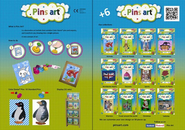 Leaflet Pins Art