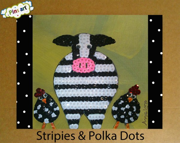 Stripies polka dots