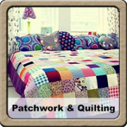 patchwork marró